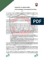 Comunicado a la opinion publica, asamblea general de estudiantes 27 de noviembre de 2019.pdf