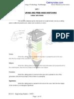 Engineering graphics Notes Anna University