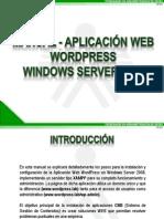 MANUAL_APLICACIÓN_WEB_WORDPRESS_WINDOWS_SERVER_2008_LARED38110