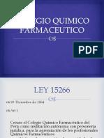 COLEGIO QUIMICO FARMACEUTICO