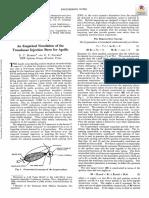 An Empirical Simulation of the Translunar Injection Burn for Apollo