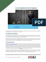 Las excepciones en la tributacion de los ingresos.pdf
