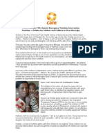 CARE CIDA Nutrition Project Case Study