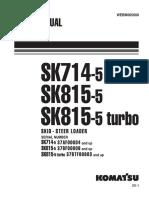 Komatsu SK714,815-5 TURBO