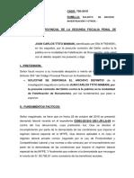 SOLICITUD DE ARCHIVO A FISCALIA
