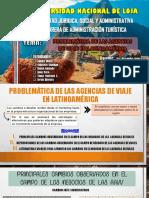problematica de las agencias de viaje en latinoamirca