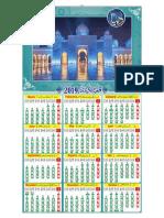 Moon Calendars for Publication
