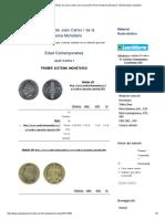 Monedas Españolas de Juan Carlos I de La Colección Primer Sistema Monetario _ Numismática Española