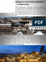 Find Best Tour Packages to Visit Tourist Attraction in Kathmandu