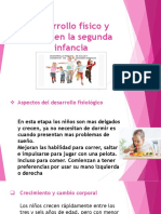 Reporte de Lectura DIAPOSITIVAS  SEGUNDA INFANCIA