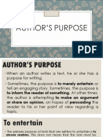 Authors-Purpose
