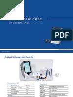 Guide HbA1c test kit