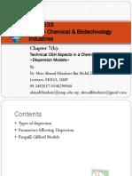 BKB3533 Chapter 7b-Dispersion Models