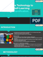 Persuasive Technology to Motivate Self-learning Through Gamification