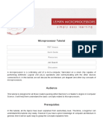 Microprocessor and Microcontroller 8051