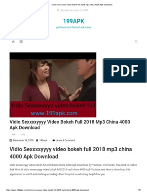 Vidio Sexxxxyyyy Video Bokeh Full 2018 Mp3 China 4000 Apk