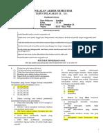 Soal PAS Sosiologi Kelas XI (Programpendidikan.com).rtf