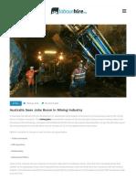 Australia Sees Jobs Boom in Mining Industry