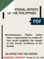 Lesson 4 National Artist