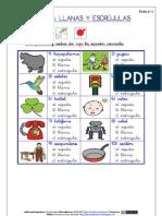 2) AGUDAS, LLANAS Y ESDRÚJULAS (ARASAAC)