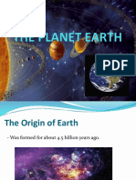 Unit I Chapter 1 (The Planet Earth).pptx