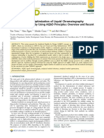 Development and Optimization of Liquid Chromatography Analytical Methods by Using AQbD Principles= Overview and Recent Advances (2019)