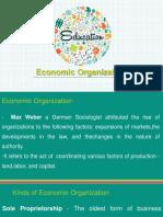 Economic Organization.UCSP