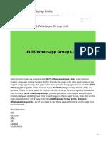 Telugukavithalu.in-iELTS Whatsapp Group Links