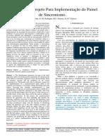 Artigo - Elaboração de Projeto Para Implementação Do Painel de Sincronismo