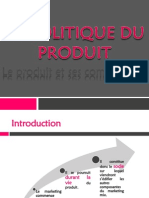 la politique de produit-marketing