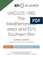 ELIAMEP, UNCLOS 1982. the Mediterranean Area and EU's Southern Rim
