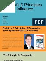 Cialdini's 6 Principles of Persuasion