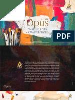 Ahad Opus E Brochure small size