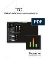 Focusrite Control Scarlett 3rd Gen User Guide_FR_0 (1)