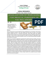 LEGALIZATION OF MARIJUANA FOR MEDICAL PURPOSES IN THE PHILIPPINES.docx