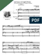 Handel - Eternal Source of Light Divine