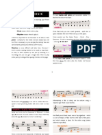 Reading music guide
