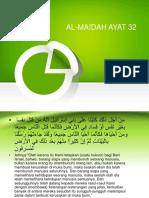 Al-maidah Ayat 32