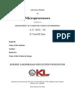 1 Laboratory Manual