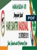 Spanduk Hari Santri 2019 5x1 meter 01