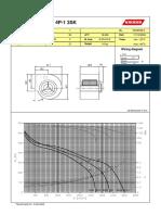 KDD 9-9T 550W 4P-1 3SK