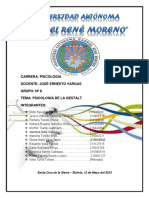 INFORME PSICOLOGIA DE LA GESTALT