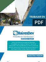 20190411 - Working at BairesDev ARG - Spanish