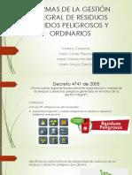 NORMAS DE LA GESTIÓN INTEGRAL DE RESIDUOS SÓLIDOS.pptx