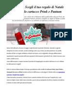 Promo Toner Pantum Scegli Il Tuo Regalo Di Natale Con Prink