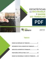eBook Estatísticas da segurança e saúde do trabalho