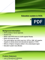 presentation on education system in FATA