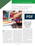 ¿Cómo mejorar tu comedor escolar? El ejemplo del Cisneros en Santander
