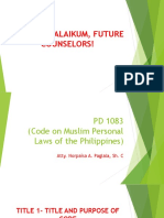 purpose and title of PD 1083