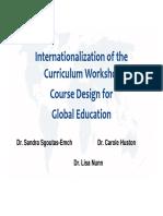 Sgoutas et al (2011)_Internationalization of the Curriculum Workshop